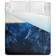Yosemite National Park California Duvet Cover Double Side (california King Size)