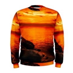 Alabama Sunset Dusk Boat Fishing Men s Sweatshirt
