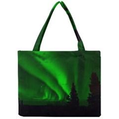 Aurora Borealis Northern Lights Mini Tote Bag