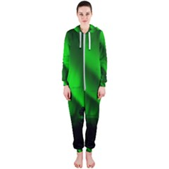 Aurora Borealis Northern Lights Hooded Jumpsuit (ladies)