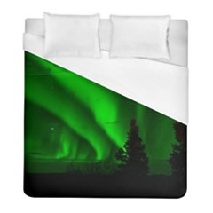 Aurora Borealis Northern Lights Duvet Cover (full/ Double Size)