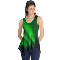 Aurora Borealis Northern Lights Sleeveless Tunic