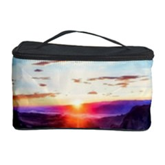Iceland Landscape Mountains Stream Cosmetic Storage Case