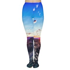 Iceland Landscape Mountains Stream Women s Tights