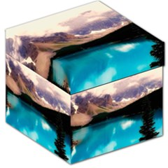 Austria Mountains Lake Water Storage Stool 12
