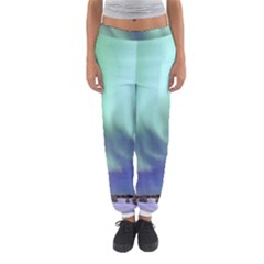 Aurora Borealis Alaska Space Women s Jogger Sweatpants