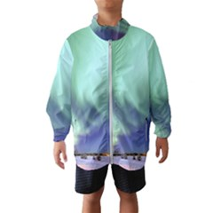 Aurora Borealis Alaska Space Wind Breaker (kids)
