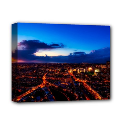 The Hague Netherlands City Urban Deluxe Canvas 14  X 11