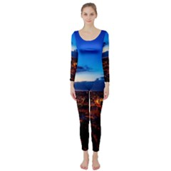 The Hague Netherlands City Urban Long Sleeve Catsuit