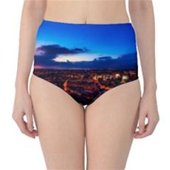 The Hague Netherlands City Urban High Waist Bikini Bottoms