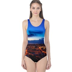 The Hague Netherlands City Urban One Piece Swimsuit