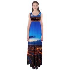 The Hague Netherlands City Urban Empire Waist Maxi Dress
