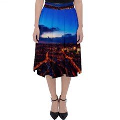 The Hague Netherlands City Urban Folding Skater Skirt
