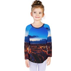 The Hague Netherlands City Urban Kids  Long Sleeve Tee