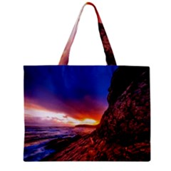 South Africa Sea Ocean Hdr Sky Zipper Mini Tote Bag