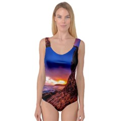 South Africa Sea Ocean Hdr Sky Princess Tank Leotard