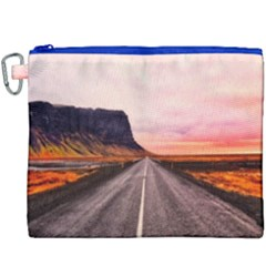 Iceland Sky Clouds Sunset Canvas Cosmetic Bag (xxxl)