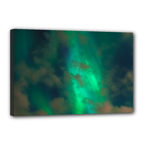 Northern Lights Plasma Sky Canvas 18  X 12