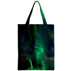 Northern Lights Plasma Sky Zipper Classic Tote Bag