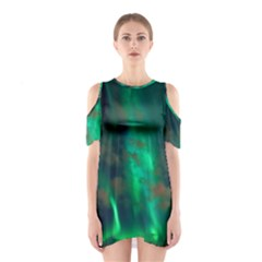 Northern Lights Plasma Sky Shoulder Cutout One Piece