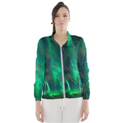 Northern Lights Plasma Sky Wind Breaker (women)