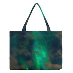 Northern Lights Plasma Sky Medium Tote Bag
