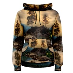 Sunset Dusk Sky Clouds Lightning Women s Pullover Hoodie