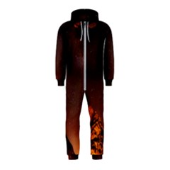 Italy Night Evening Stars Hooded Jumpsuit (kids)