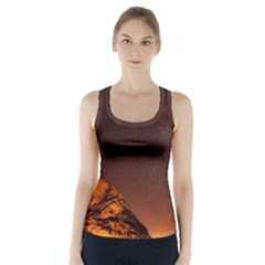 Italy Night Evening Stars Racer Back Sports Top