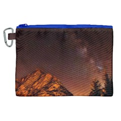 Italy Night Evening Stars Canvas Cosmetic Bag (xl)