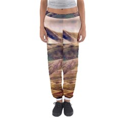 Iceland Mountains Sky Clouds Women s Jogger Sweatpants