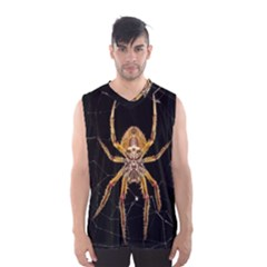 Insect Macro Spider Colombia Men s Basketball Tank Top