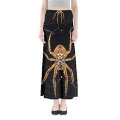 Insect Macro Spider Colombia Full Length Maxi Skirt