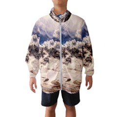 Italy Landscape Mountains Winter Wind Breaker (kids)