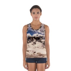 Italy Landscape Mountains Winter Sport Tank Top