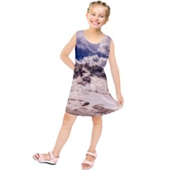 Italy Landscape Mountains Winter Kids  Tunic Dress