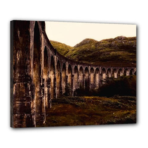 Viaduct Structure Landmark Historic Canvas 20  X 16