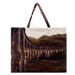 Viaduct Structure Landmark Historic Zipper Large Tote Bag
