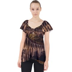 Viaduct Structure Landmark Historic Lace Front Dolly Top