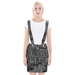 Venice Italy Gondola Boat Canal Braces Suspender Skirt