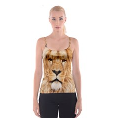 Africa African Animal Cat Close Up Spaghetti Strap Top