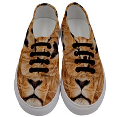 Africa African Animal Cat Close Up Men s Classic Low Top Sneakers