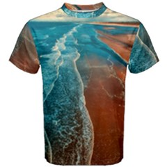 Sea Ocean Coastline Coast Sky Men s Cotton Tee