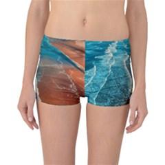 Sea Ocean Coastline Coast Sky Reversible Boyleg Bikini Bottoms