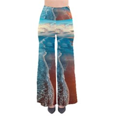 Sea Ocean Coastline Coast Sky Pants
