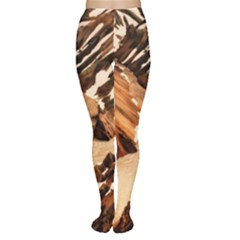 Iceland Mountains Snow Ravine Women s Tights