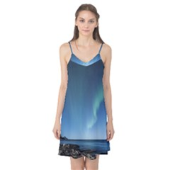 Aurora Borealis Lofoten Norway Camis Nightgown