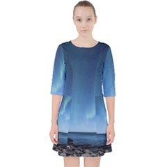 Aurora Borealis Lofoten Norway Pocket Dress