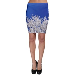 Crown Aesthetic Branches Hoarfrost Bodycon Skirt