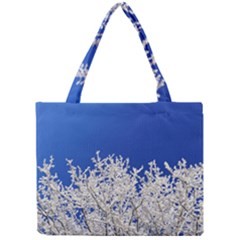 Crown Aesthetic Branches Hoarfrost Mini Tote Bag